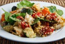Ψητα λαχανικά με κους κους