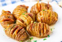 Πατάτες με λουκάνικο και μπέικον