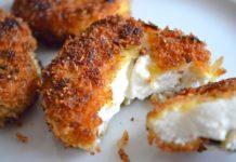 Τηγανητό κατσικίσιο τυρί