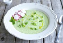 Κρύα σούπα με αβοκάντο