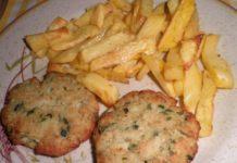 Ψαροκροκέτες στο φούρνο