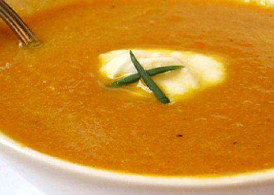 Καλοκαιρινή Σούπα με καρότα και τζίντζερ