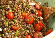 Φακές σαλάτα με μπαλσάμικο